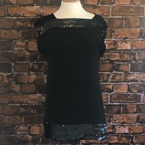 French Connection Beaded Mini Dress